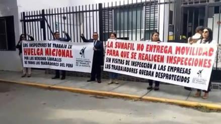 Chiclayo: Inspectores de Sunafil suspendieron su huelga
