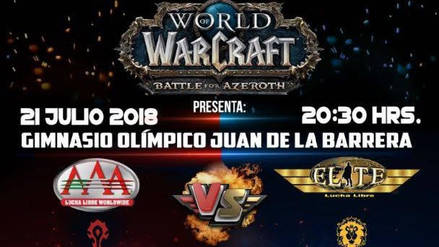 World of Warcraft protagonizará épico evento de Lucha Libre