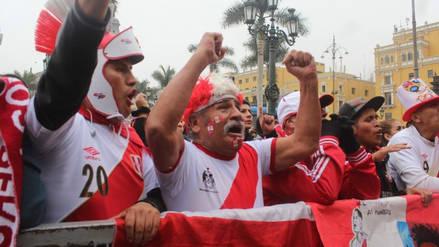 Así se festejaron en Lima los goles de André Carrillo y Paolo Guerrero
