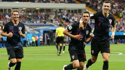 Croacia venció a Islandia y pasó como líder del Grupo D a octavos de final