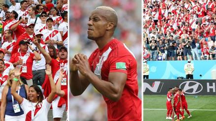 ¡Grítalo Perú! Así celebraron los hinchas el gol de André Carrillo en el Mundial