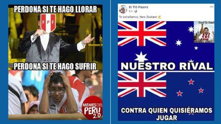 Perú protagonizó los memes previo al duelo ante Australia