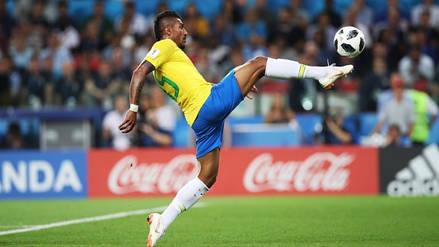 Paulinho y el golazo que abre el camino de octavos de final para Brasil en Rusia 2018