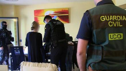La Guardia Civil de España desarticuló una red que explotaba sexualmente a venezolanas