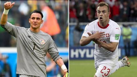 Costa Rica 2-2 Suiza: resumen, jugadas y goles del partido por Rusia 2018