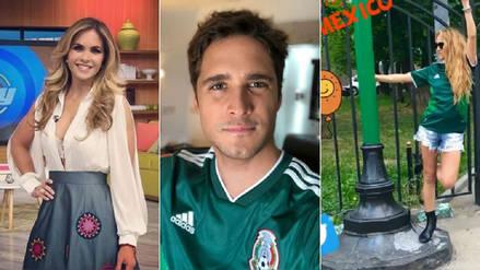 México vs. Suecia: famosos alientan a la tricolor en la previa de su partido decisivo
