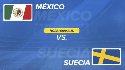México vs Suecia EN VIVO EN DIRECTO ONLINE: Canales, goles y minuto a minuto