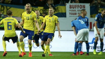 Suecia, la selección que se bajó a Holanda e Italia del Mundial y eliminó a Alemania de Rusia 2018