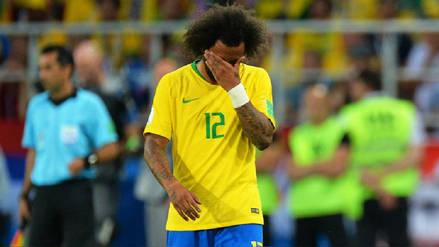 Brasil publicó el parte médico de Marcelo luego de su salida en el duelo con Serbia