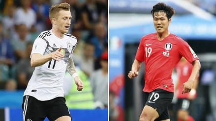 Alemania vs Corea del Sur EN VIVO EN DIRECTO ONLINE: Minuto a minuto por el Grupo F de Rusia 2018