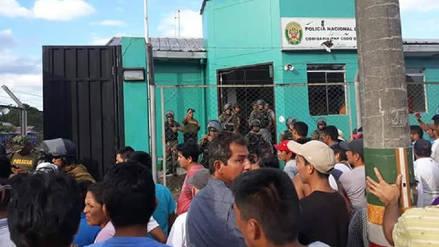 Comuneros tomaron comisaría del Codo del Pozuzo en Huánuco