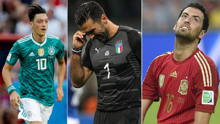 La maldición de los campeones del mundo que ahora incluye a Alemania