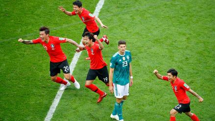 Los récords que rompió Corea del Sur con su victoria ante Alemania