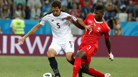 Suiza se clasificó a los octavos de final tras empatar 2-2 ante Costa Rica