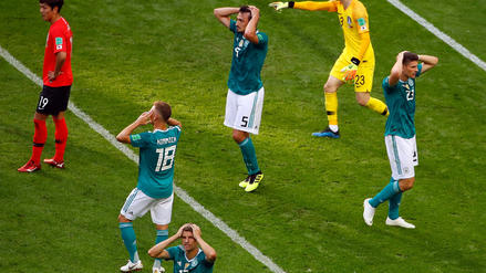Alemania por primera vez en la historia de los Mundiales es eliminada en primera ronda