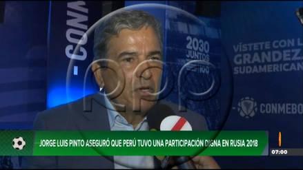 """Jorge Luis Pinto: """"Hay que ser francos, Paolo Guerrero no llegó con el mejor nivel al Mundial"""""""