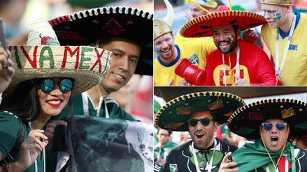 México: así alientan sus hinchas en el duelo ante Suecia