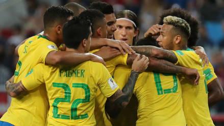 Brasil venció a Serbia para clasificar a octavos de final como líder del Grupo E