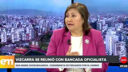 """Choquehuanca: """"Tenemos que adaptarnos al estilo"""" del presidente Vizcarra"""