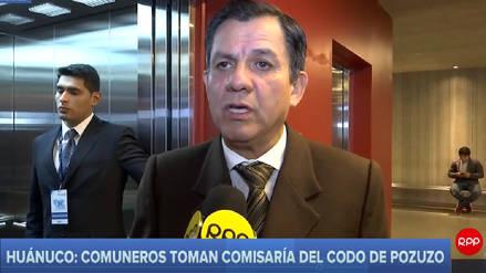 Ministro del Interior confirma cambio total del personal policial en Codo del Pozuzo
