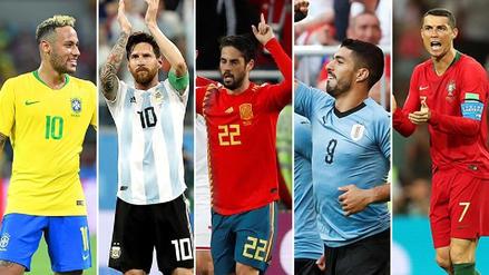 Así llegan las 16 selecciones clasificadas a octavos de final de Rusia 2018