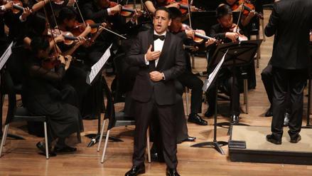 Juan Diego Flórez y Sinfonía por el Perú ofrecieron un concierto clásico con sabor peruano