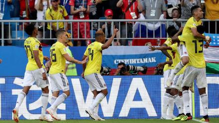 Colombia venció a Senegal y avanzó a la siguiente ronda como primero de su grupo