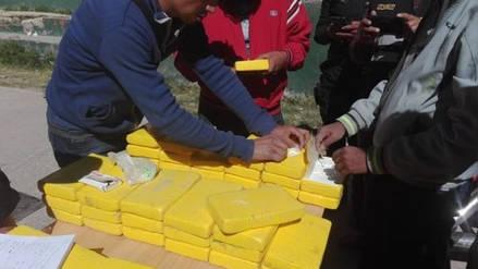 La Policía detuvo a cuatro personas con 138 kilos de cocaína