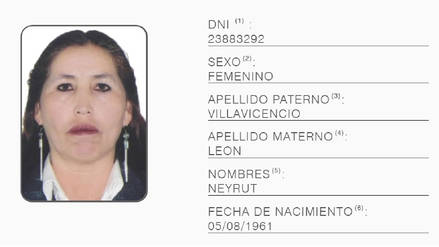 Capturan a requisitoriada que postulaba a regidora del distrito de San Sebastián