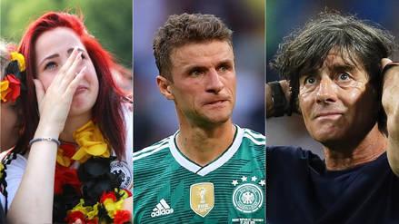"""""""Una era ha terminado"""": las portadas en Alemania al día siguiente de la eliminación de Rusia 2018"""