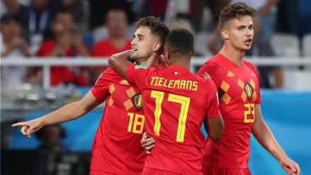Bélgica venció 1-0 a Inglaterra y acabó líder en el grupo G de Rusia 2018