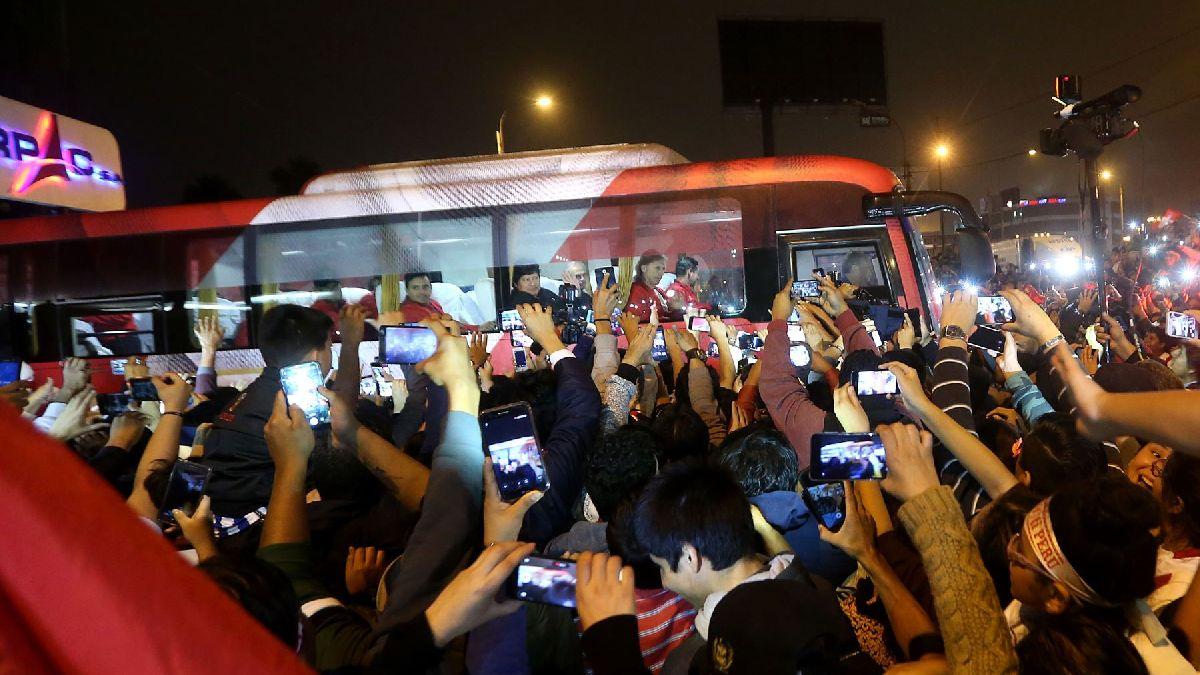 La Selección Peruana regresa al país tras participar en Rusia 2018