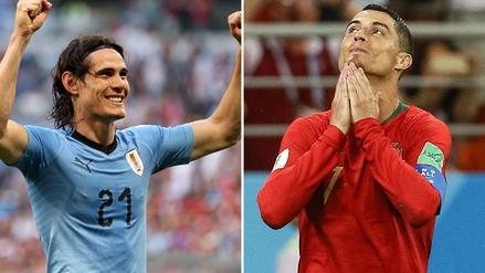 7 datos en la previa del Uruguay vs. Portugal, el cruce más parejo de octavos de Rusia 2018