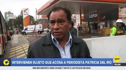 La Policía intervino a un hombre que acosaba a la periodista Patricia del Río