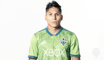 Así luce Raúl Ruidíaz con la camiseta del Seattle Sounders de la MLS