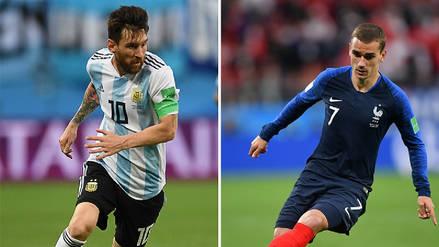 Argentina vs. Francia EN VIVO: horario, fecha y canal del partido por los octavos de final
