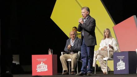 """Juan Manuel Santos: """"Los jóvenes tienen que apropiarse de la Alianza del Pacífico"""""""
