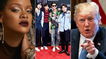 La banda coreana BTS, Rihanna y Donald Trump integran la lista de los más influyentes de Internet