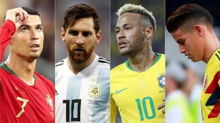 Rusia 2018 | Cristiano Ronaldo, Messi, Neymar y James jugarán los octavos de final 'en capilla'