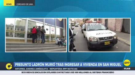 La Fiscalía investiga la muerte de un hombre que irrumpió en una casa de San Miguel