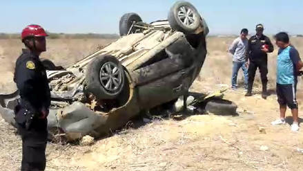 Alcalde del distrito de Colán queda grave tras sufrir accidente de tránsito