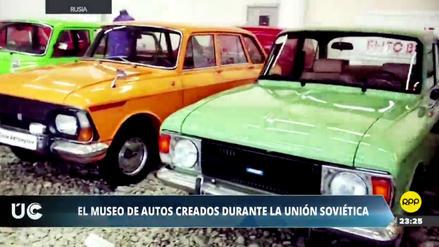 Video | El museo de autos fabricados durante la Unión Soviética
