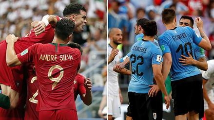 ¿En qué ocasiones Portugal vs Uruguay se enfrentaron y quién ganó más veces?