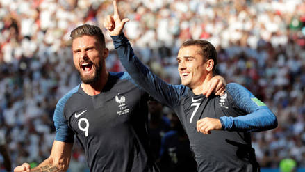 Video | El penal que Griezmann convirtió en el primer gol de Francia sobre Argentina