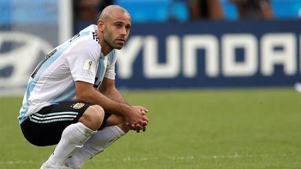 Javier Mascherano le dijo adiós a la Selección Argentina
