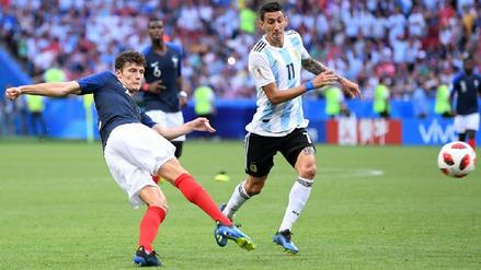 Benjamin Pavard puso el 2-2 en el Argentina vs. Francia con este golazo