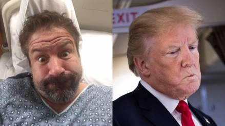 Un comediante dice que burló a la Casa Blanca y habló por teléfono con Trump