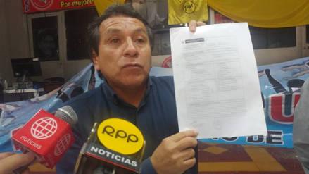 Dirigentes de Olmos denunciarán a alcalde Juan Mío por otorgar licencia ilegalmente