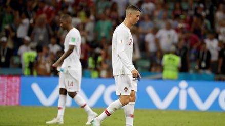 Cristiano Ronaldo y la figura que se fue diluyendo en Rusia 2018