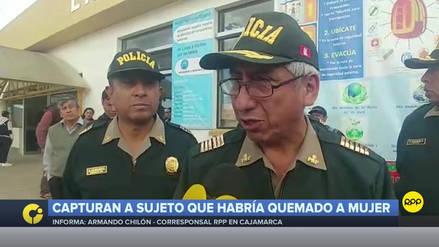 Sospechoso de quemar a mujer en Cajamarca fue pareja de la hermana de la víctima, según PNP